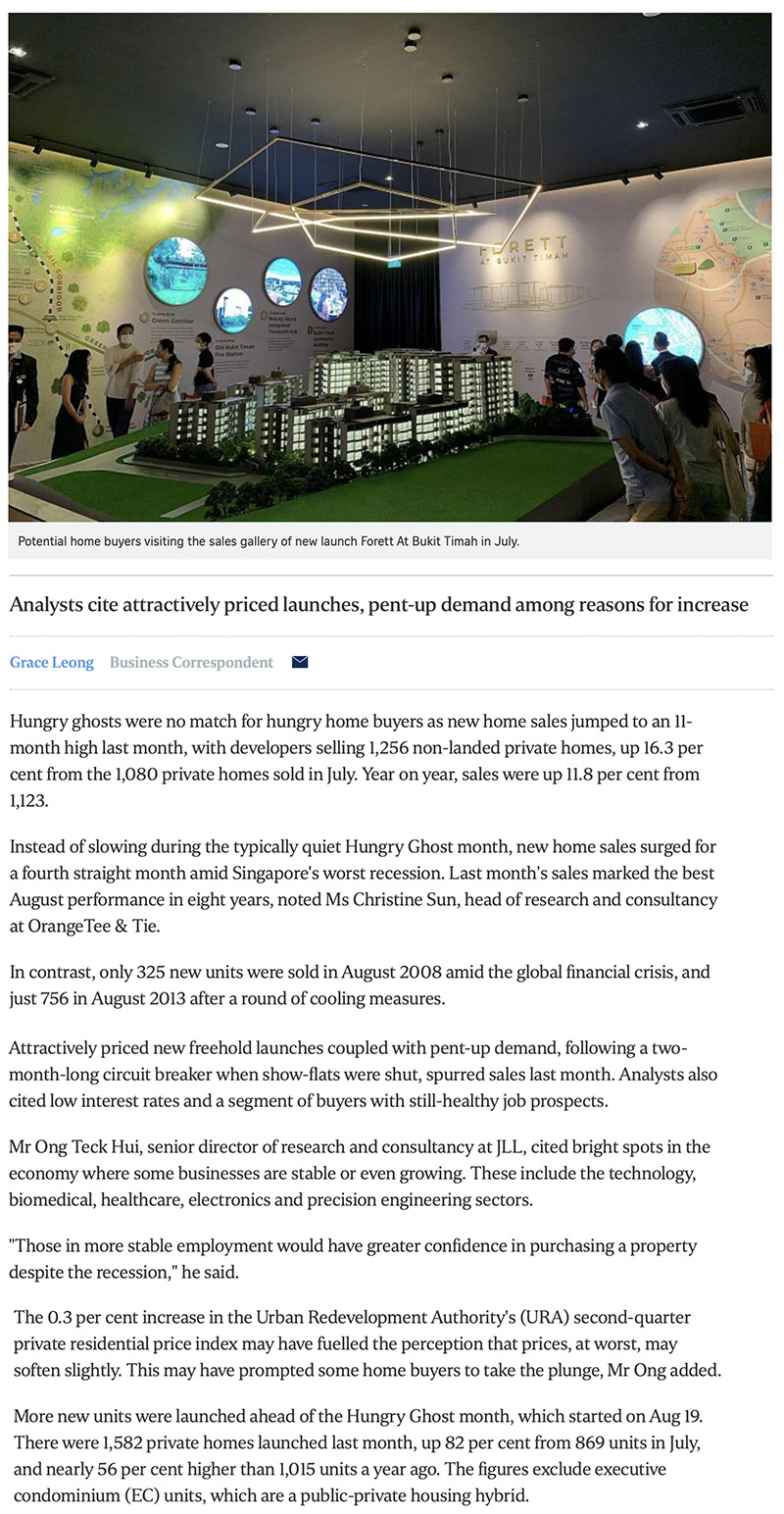The Gazania - New home sales surge to 11-month high in August 1